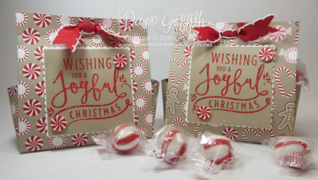 Christmas Treat bags Dawn Griffith Stampin up