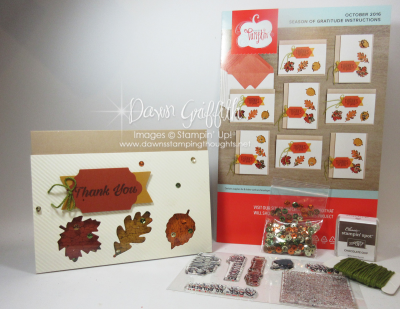 Oct 2016  Paper Pumpkin Dawn Griffith Stampin Up
