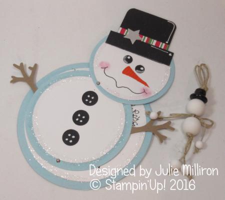 Julie Milliron Christmas snowman