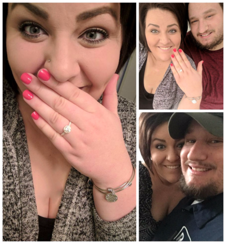 Jessie and Tommy Christmas 2017  Engagement