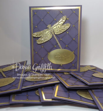 Glitter Queens December goal cards Dawn Griffith