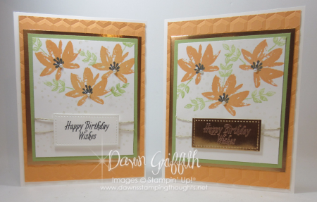 Avant Gadren Birthday cards Peekaboo Peach Dawn Griffith