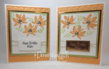Avant Gadren Birthday cards Peekaboo Peach Dawn Griffith