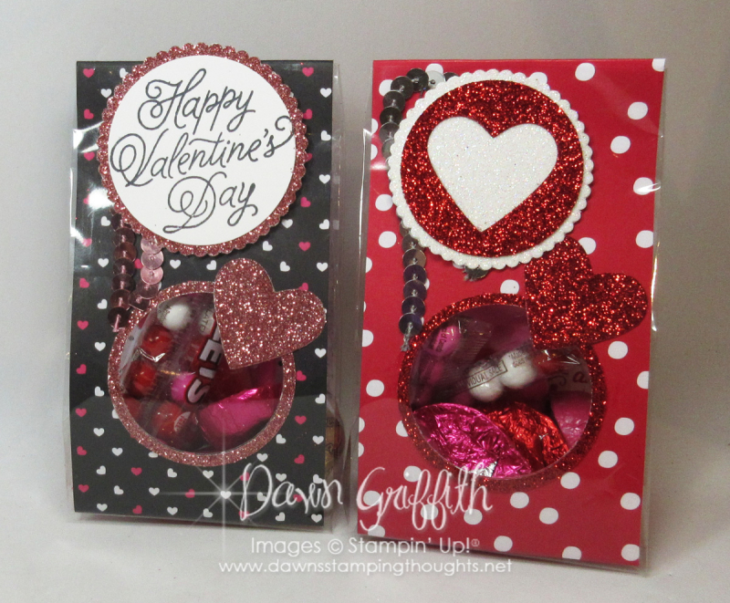 Valentine Treat Bags Dawn Griffith