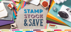 Stamp Stock and Save until Oct 6, 2014
