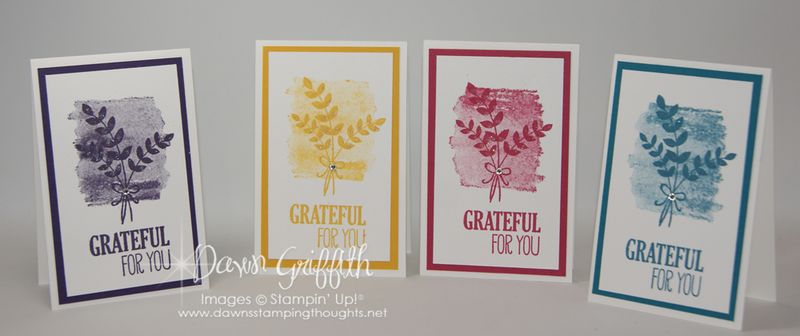 Oct 2014 Thank you notes