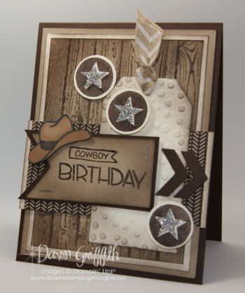 Cowboy birthday card for hubby #1