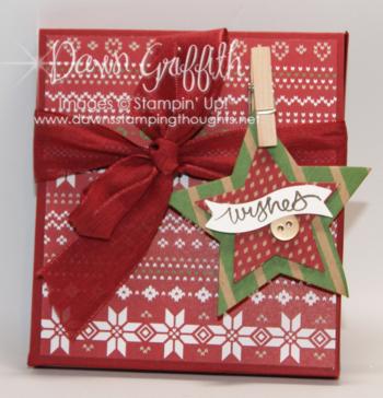 Gift card holder box