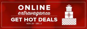 ONLINE Extravaganza  Hot Deals 20-50 % off