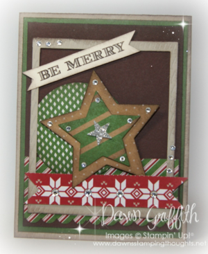 Be Merry card #1