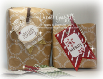 #1 Christmas tags & wrapping paper