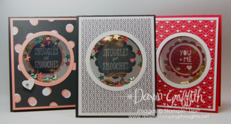 Valentine Shaker cards