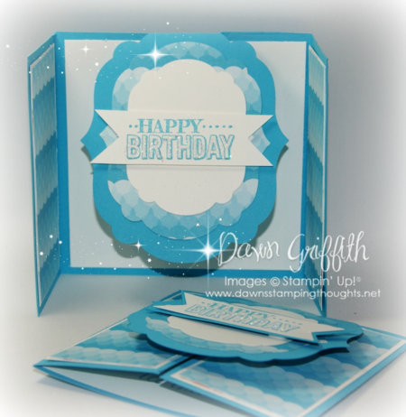 Happy Birthday flap cards #1