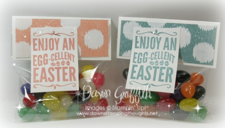 Jelly Bean bag toppers #1
