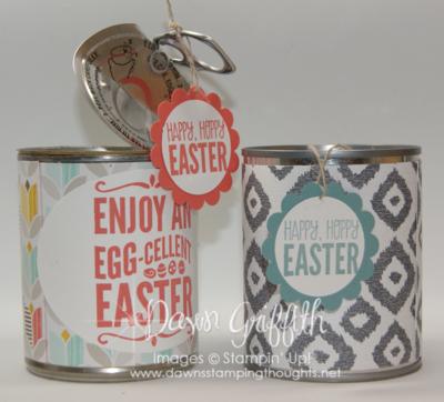 Easter Treats  pop top  cans