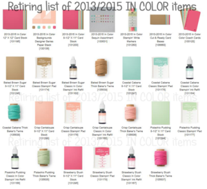 Retirement chart of 2013 2015 In color items #1