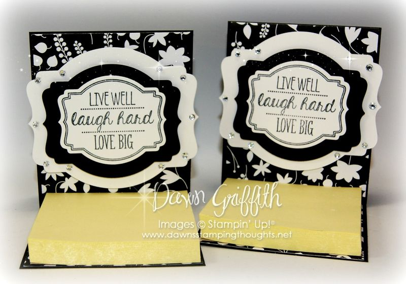 Easel Post it note holders #1