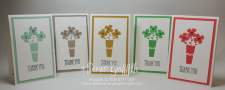 June 2015 Thank you notes