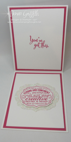 You've GOT this card for My friend Patty inside