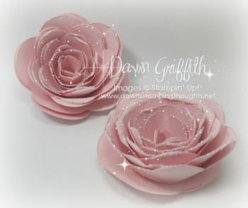 Pink Paper Roses #1