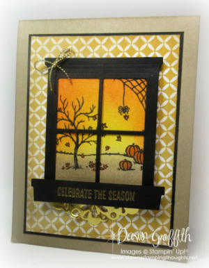 #1 Stampin'Up! Happy Scenes Autumn Dawn Griffith