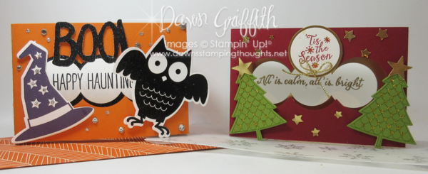 Diorama Cards Dawn Griffith Stampin'Up!