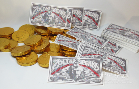 Gold  Chocolate Coins  and Zoltar tickets
