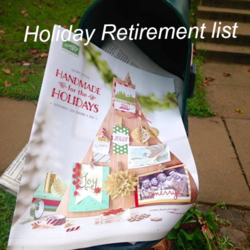 Holiday Mail  box # 1 retirement list  Dawn Griffith