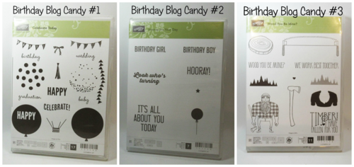 Birthday Blog Candy pictures Dawn Griffith Stampin'Up!