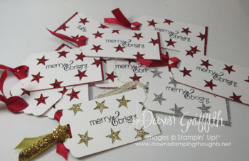 Christmas gift tags Dawn Griffith