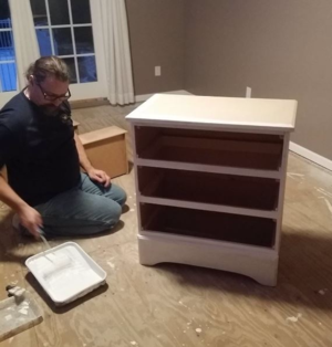 Resized  cut down drawer  for closet