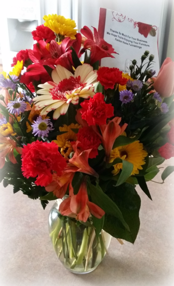 #1 Flowers from Fenton Home Furnishings