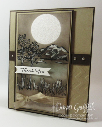 In The Meadow Dawn Griffith Stampin'Up! Demonstrator