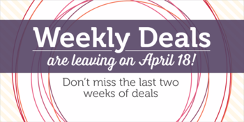 Weekly deals going away in 2 weeks