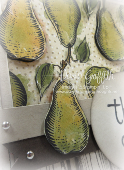 #2 Farmers Market DSP card upclose images cut out and popped up  by Dawn Griffith Stampin'Up! Demonstrator  check out my blog for