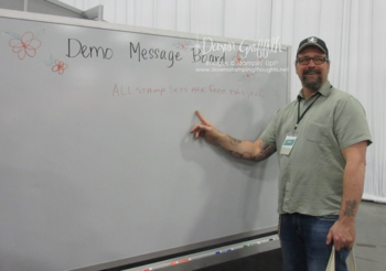 Message board Onstage 2016 Dawn Griffith Stampin'Up! Demonstrator