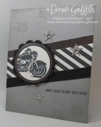 One Wild Ride Dawn Griffith Million Dollar stamp set  Basic Black and Smoky Slate  more details on my blog