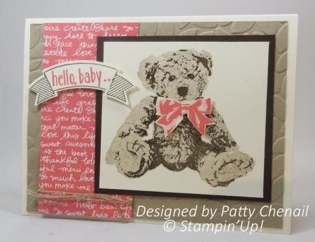Hello Baby card from Patty Chenail