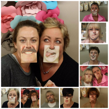 Funny Face Coasters GQ retreat  Collage