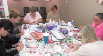 Late Late night stamping fest  Saturday Aug 20 2016