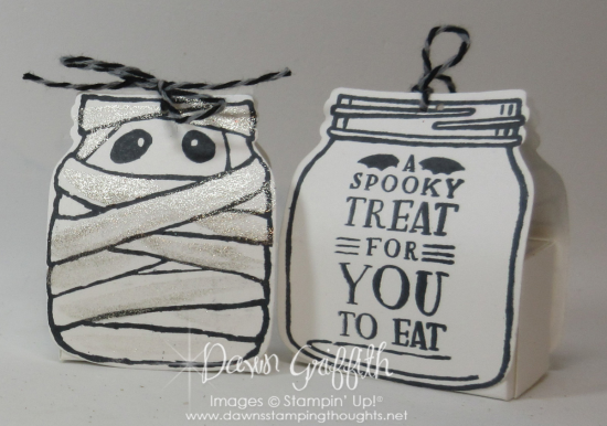Mummy Treat Holders Dawn Grififth