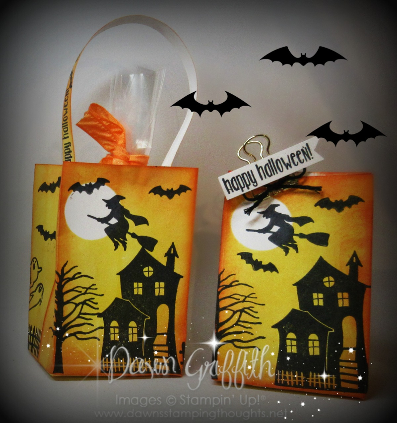 #2 Bag a lope halloween themed Dawn Griffith Stampin up