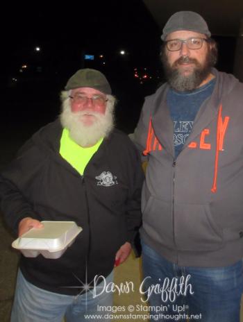 Rich and Mike AKA Santa