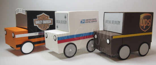 Gift Box USPS UPS Harley Trucks Dawn Griffith