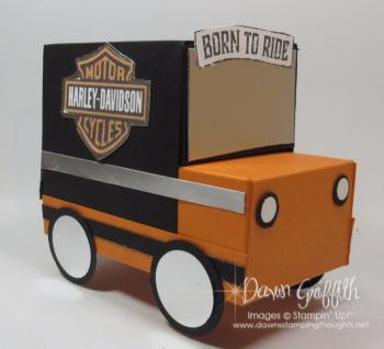 Gift Box Harley Truck Dawn Griffith