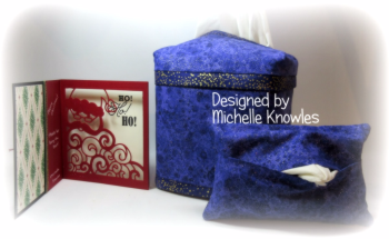 Michelle Knowles Kleenex holders and Christmas card 1a