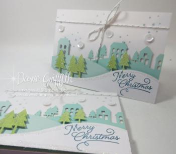 Merry Christmas cards Paper Pumpkin Nov 2016 1a