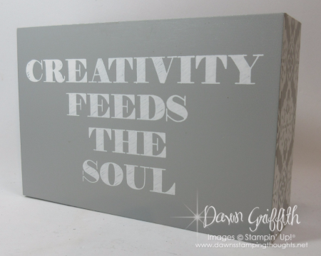 Creativity  Feeds the Soul Dawn Griffith