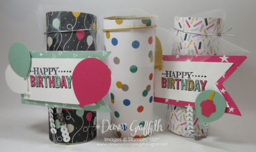 How to make Party Poppers DIY  with Dawn Griffith