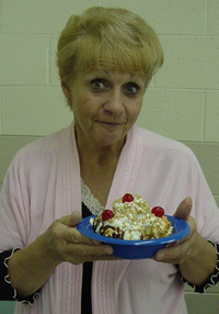 My_mom_with_her_beautiful_sundae